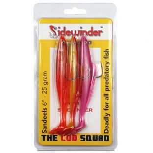 "Sidewinder ""Cod Squad"" Sandeel Combo Pack"
